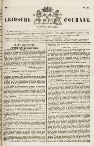 Leydse Courant 1873-03-13
