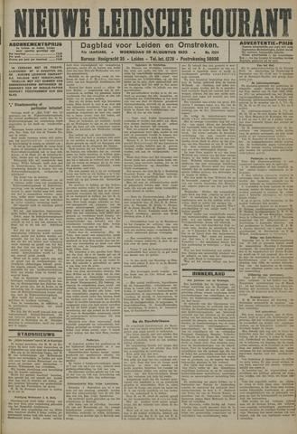 Nieuwe Leidsche Courant 1923-08-29