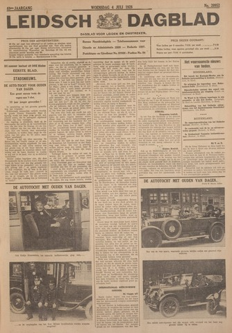 Leidsch Dagblad 1928-07-04