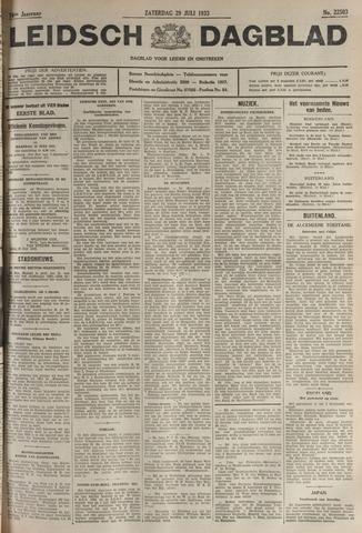 Leidsch Dagblad 1933-07-29