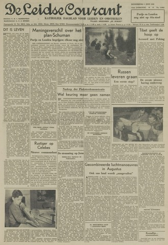 Leidse Courant 1950-06-01