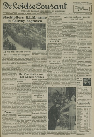 Leidse Courant 1958-08-20