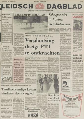 Leidsch Dagblad 1977-09-27