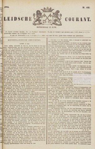 Leydse Courant 1884-06-12
