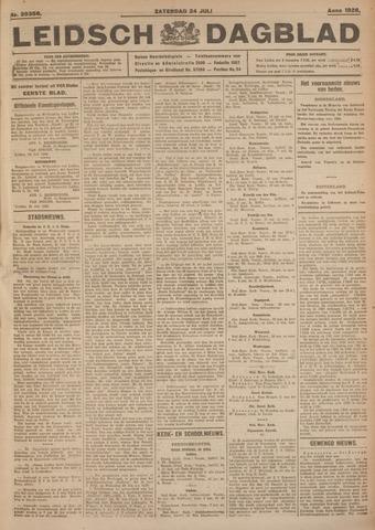 Leidsch Dagblad 1926-07-24