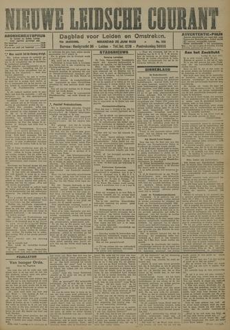 Nieuwe Leidsche Courant 1923-06-25