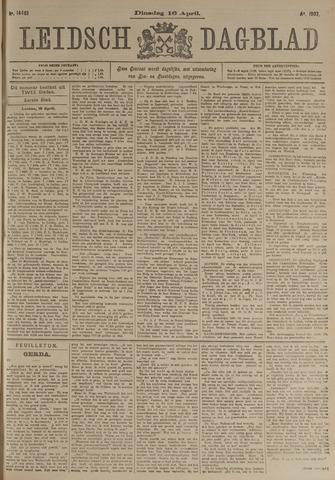Leidsch Dagblad 1907-04-16