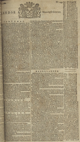 Leydse Courant 1760-11-24