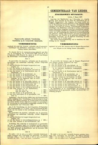 Handelingen van de Raad 1897-03-05
