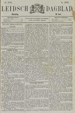 Leidsch Dagblad 1875-06-28