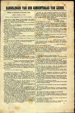 Handelingen van de Raad 1874-09-03