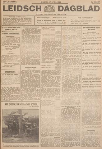 Leidsch Dagblad 1928-04-17