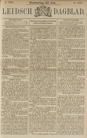 Leidsch Dagblad 1885-07-30