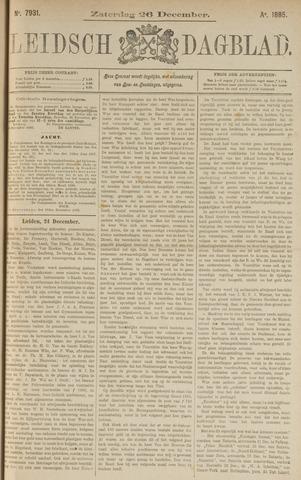 Leidsch Dagblad 1885-12-26