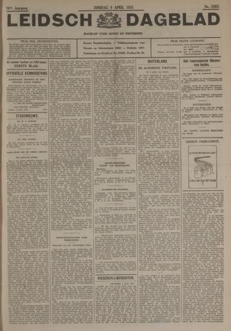 Leidsch Dagblad 1935-04-09