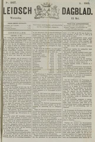 Leidsch Dagblad 1869-05-12