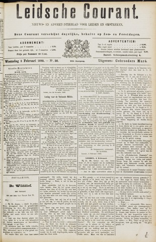 Leydse Courant 1890-02-05