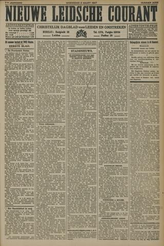 Nieuwe Leidsche Courant 1927-03-02