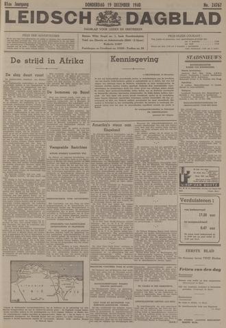 Leidsch Dagblad 1940-12-19