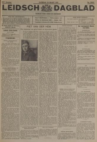Leidsch Dagblad 1935-03-30