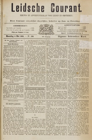 Leydse Courant 1885-05-04