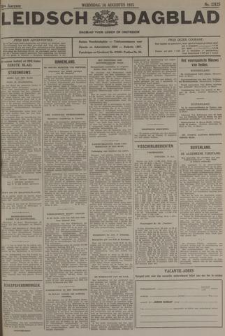 Leidsch Dagblad 1935-08-14