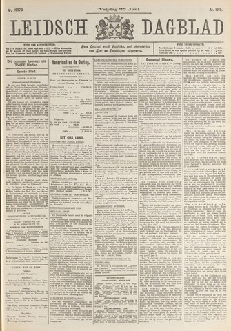 Leidsch Dagblad 1915-06-25