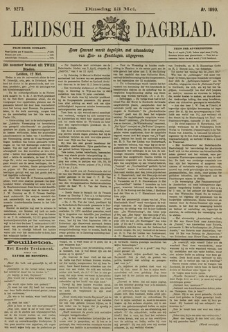 Leidsch Dagblad 1890-05-13