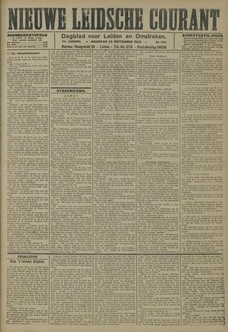 Nieuwe Leidsche Courant 1923-09-24