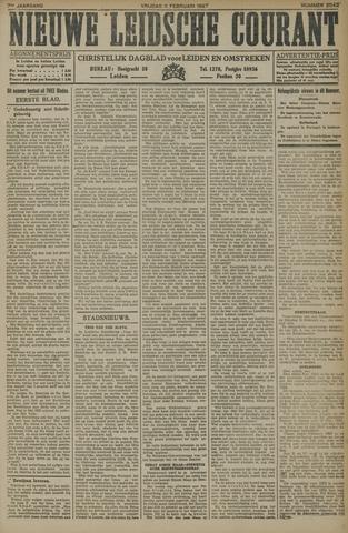 Nieuwe Leidsche Courant 1927-02-11