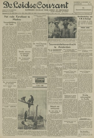 Leidse Courant 1949-12-22