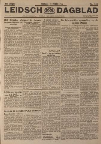 Leidsch Dagblad 1942-10-28