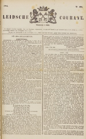 Leydse Courant 1884-05-02