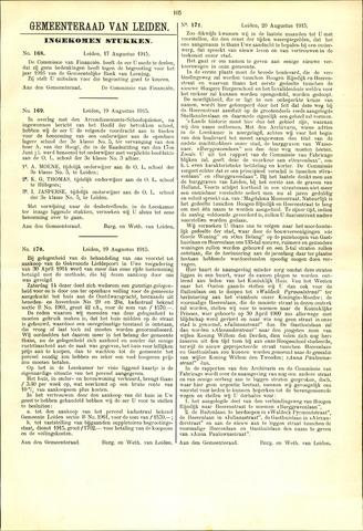 Handelingen van de Raad 1915-08-17
