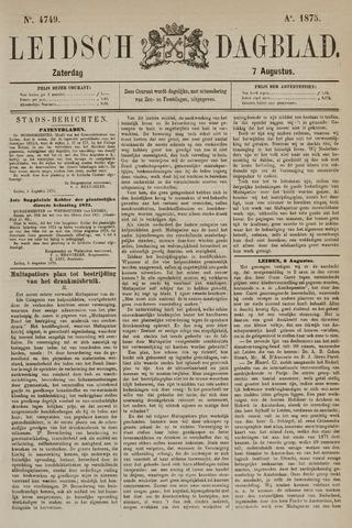 Leidsch Dagblad 1875-08-07