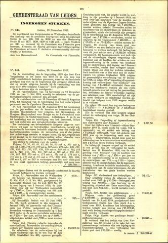 Handelingen van de Raad 1919-11-19
