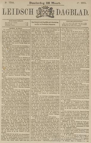 Leidsch Dagblad 1885-03-26