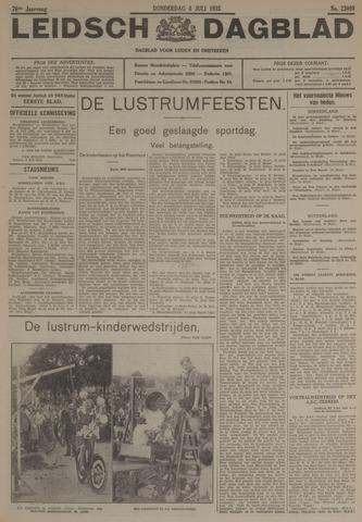 Leidsch Dagblad 1935-07-04