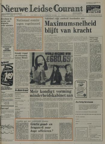 Nieuwe Leidsche Courant 1974-02-21
