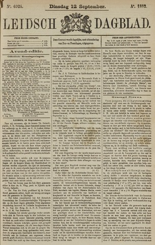 Leidsch Dagblad 1882-09-12