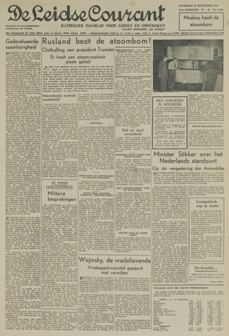 Leidse Courant 1949-09-24