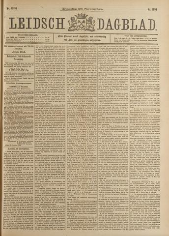Leidsch Dagblad 1899-11-28
