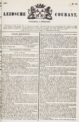 Leydse Courant 1877-02-14