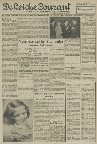 Leidse Courant 1949-01-29