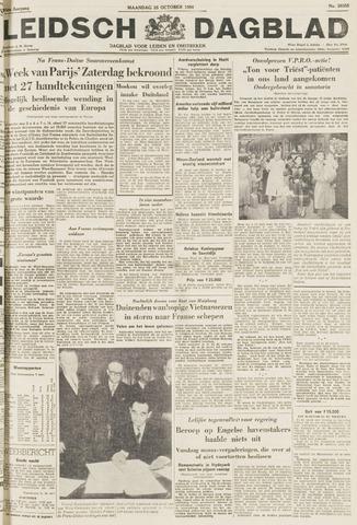 Leidsch Dagblad 1954-10-25