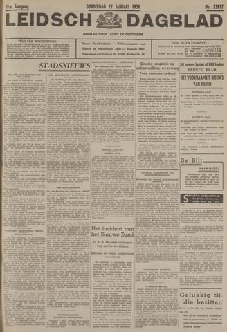 Leidsch Dagblad 1938-01-27