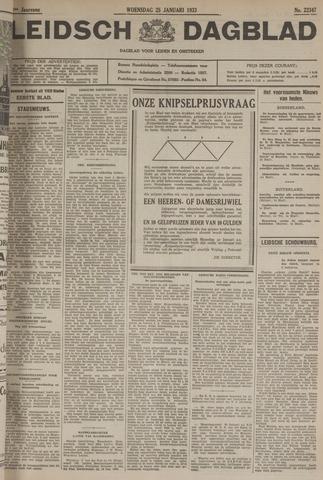 Leidsch Dagblad 1933-01-25