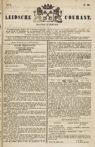 Leydse Courant 1873-01-27