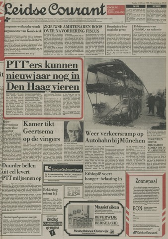 Leidse Courant 1985-02-12
