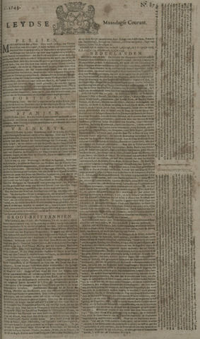 Leydse Courant 1743-07-22